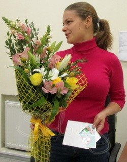 Доставка цветов Санкт-Петербург, Ленинградская область